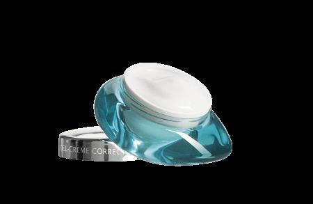 Denne lette og fløyelsmyke gelekremen er rik på hyaluronsyre kombinert med marine pro-collagen, som gradvis fyller ut selv etablerte rynker.
