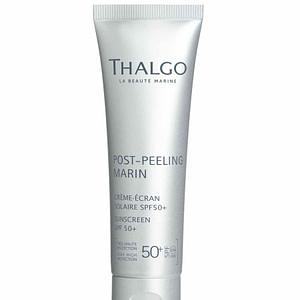 Thalgo Sunscreen SPF50+, 50ml.Solbeskyttelse som gir huden usynlig og optimal beskyttelse. Gir en matt finish effekt. Påføres etter din vanlige dagkrem.